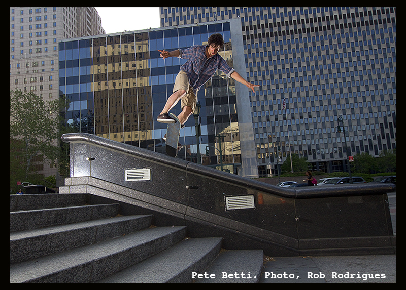 Skateboard Teacher Pete Betti