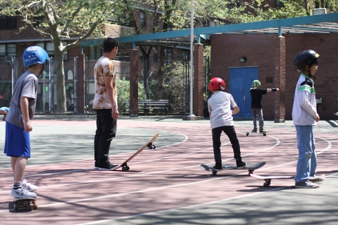Open Group Skateboarding
