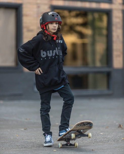 SURE Skateboards student and recently turned Bustin Team Rider, Luca Zeolla. Photo; Khaleeq Alfred