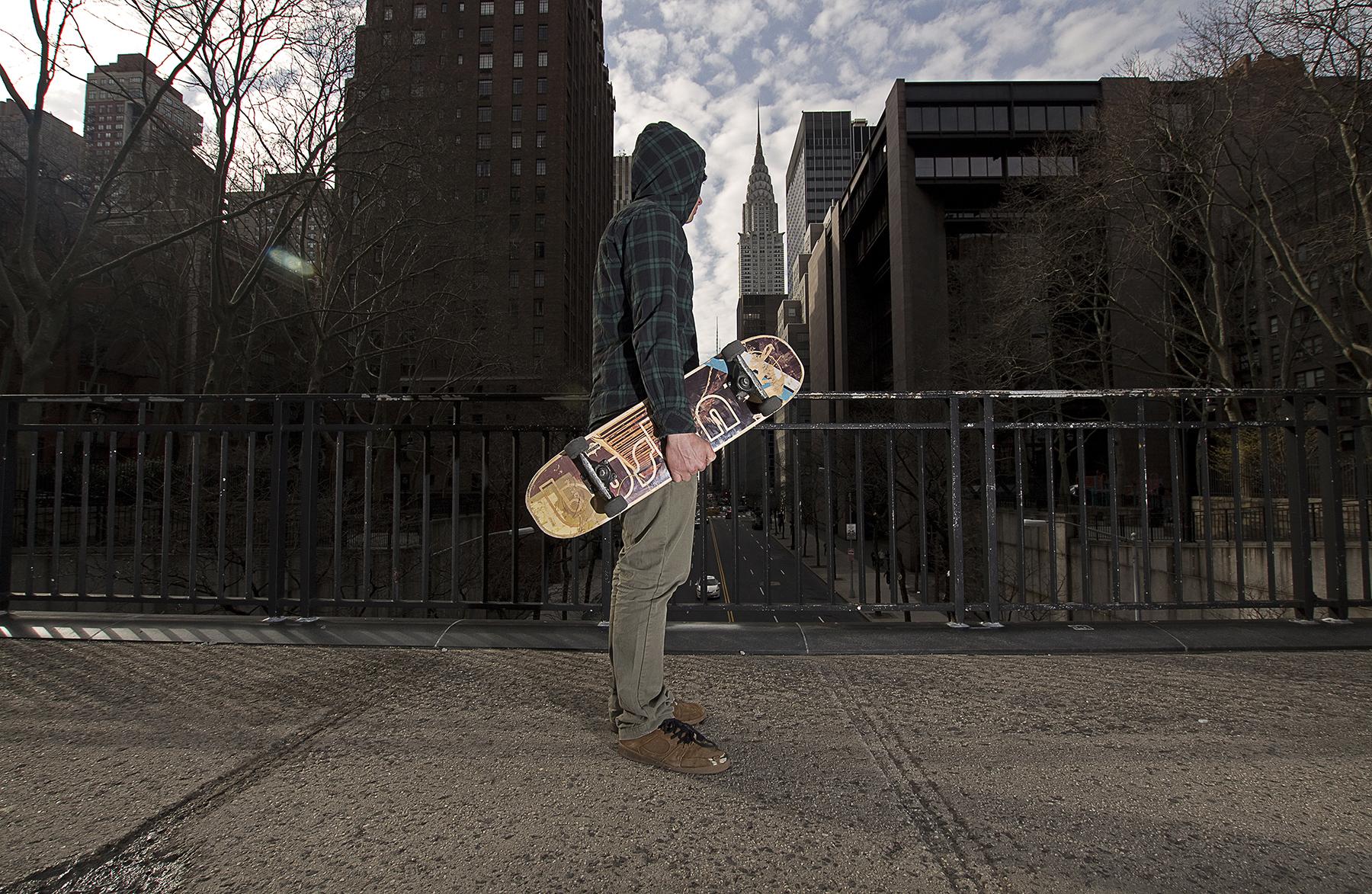 Pete Betti, NYC Skateboard Instructor