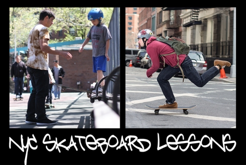 New York City Skateboard Lessons for Kids and Adults